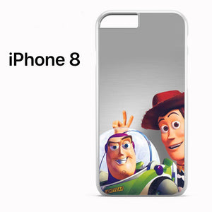 Woody And Buzz Lightyear toy story - iPhone 8 Case - Tatumcase