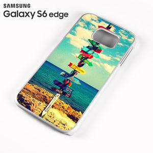 World Signs - Samsung Galaxy S6 Edge Case - Tatumcase