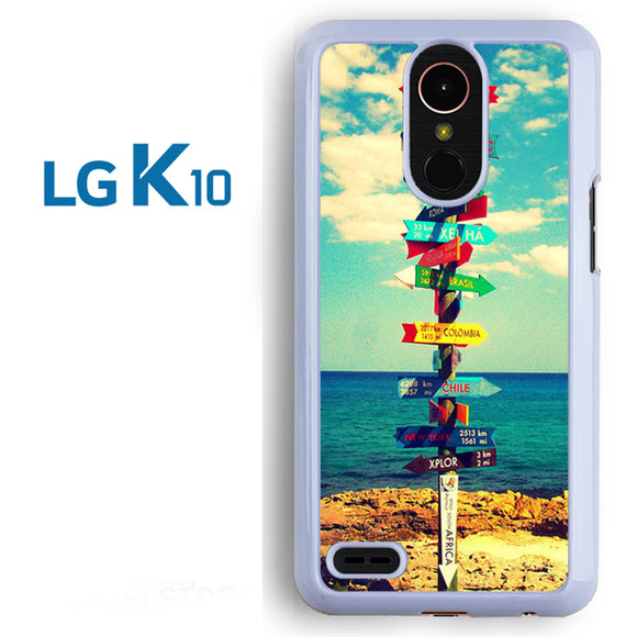 World Signs - LG K10 Case - Tatumcase