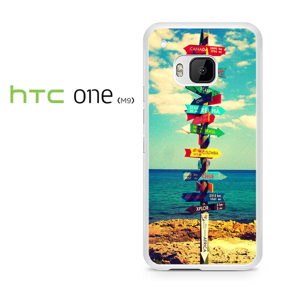 World Signs - HTC M9 Case - Tatumcase