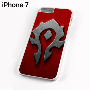 World of Warcraft Metal Logo AB - iPhone 7 Case - Tatumcase