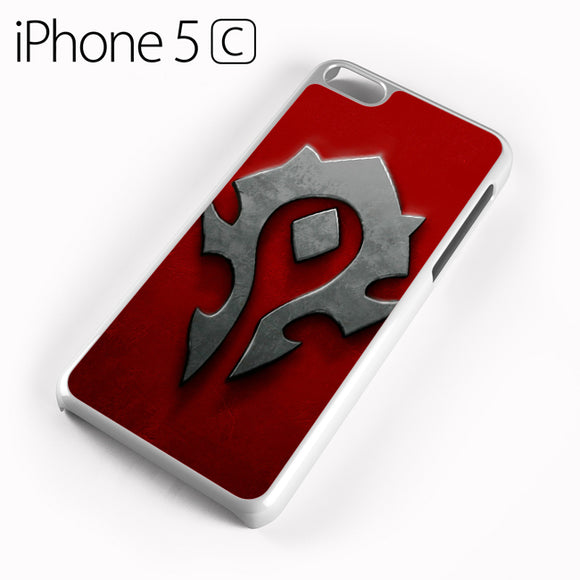 World of Warcraft Metal Logo AB - iPhone 5C Case - Tatumcase