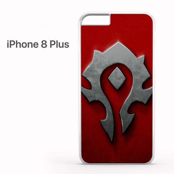 World of Warcraft Metal Logo AB - iPhone 8 Plus Case - Tatumcase