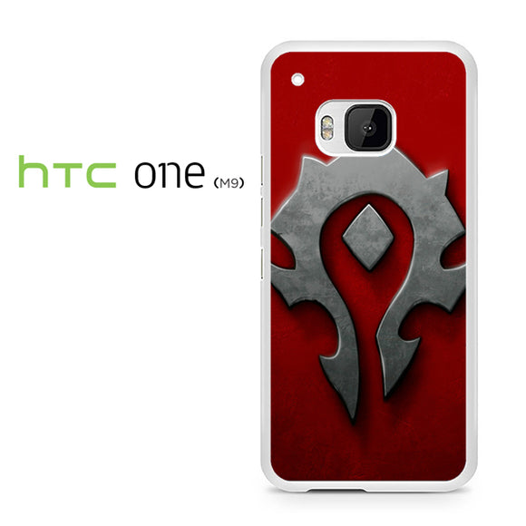 World of Warcraft Metal Logo AB - HTC M9 Case - Tatumcase