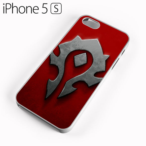 World of Warcraft Metal Logo AB - iPhone 5 Case - Tatumcase