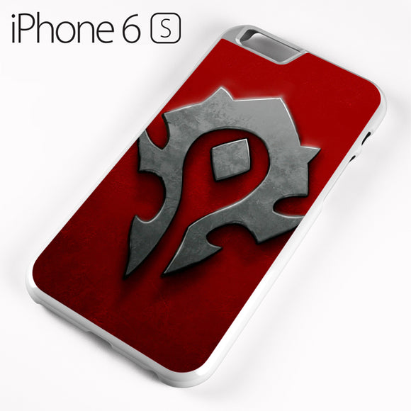 World of Warcraft Metal Logo AB - iPhone 6 Case - Tatumcase