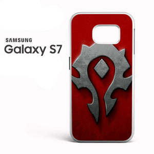 World of Warcraft Metal Logo AB - Samsung Galaxy S7 Case - Tatumcase
