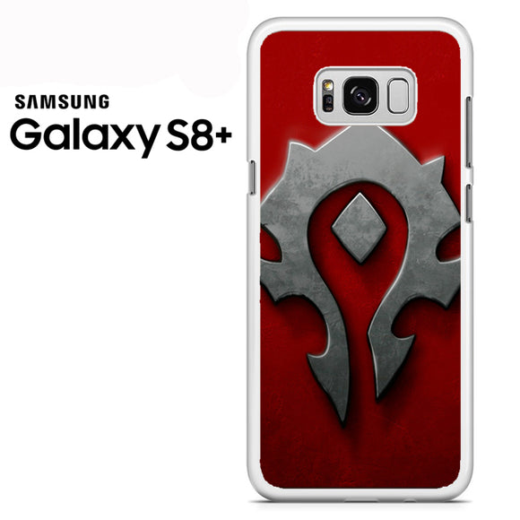 World of Warcraft Metal Logo AB - Samsung Galaxy S8 Plus Case - Tatumcase