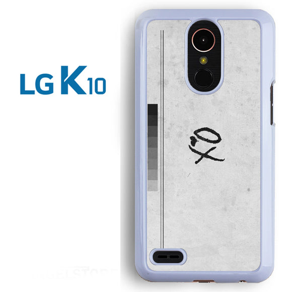 XO valentine day shot glass - LG K10 Case - Tatumcase