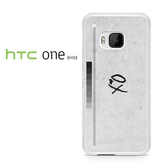 XO valentine day shot glass - HTC M9 Case - Tatumcase