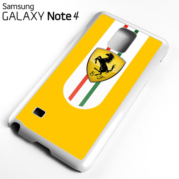 Yellow Ferrari - Samsung Galaxy Note 4 Case - Tatumcase