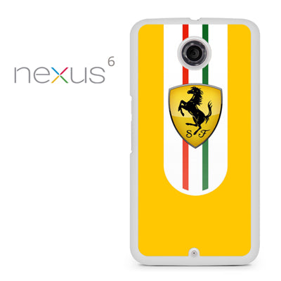 Yellow Ferrari - Nexus 6 Case - Tatumcase