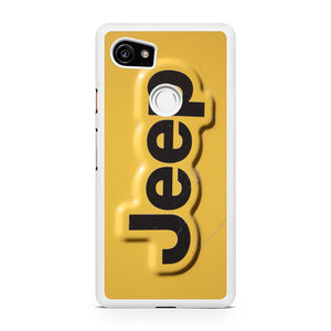 Yellow Jeep Plat, Custom Phone Case, Google Pixel 2 XL Case, Pixel 2 XL Case, Tatumcase