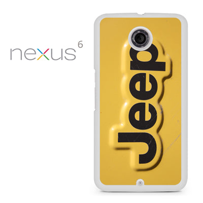 Yellow Jeep Plat - Nexus 6 Case - Tatumcase