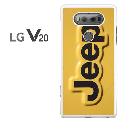 Yellow Jeep Plat - LG V20 Case - Tatumcase