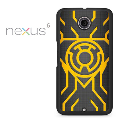 Yellow Lantern - Nexus 6 Case - Tatumcase