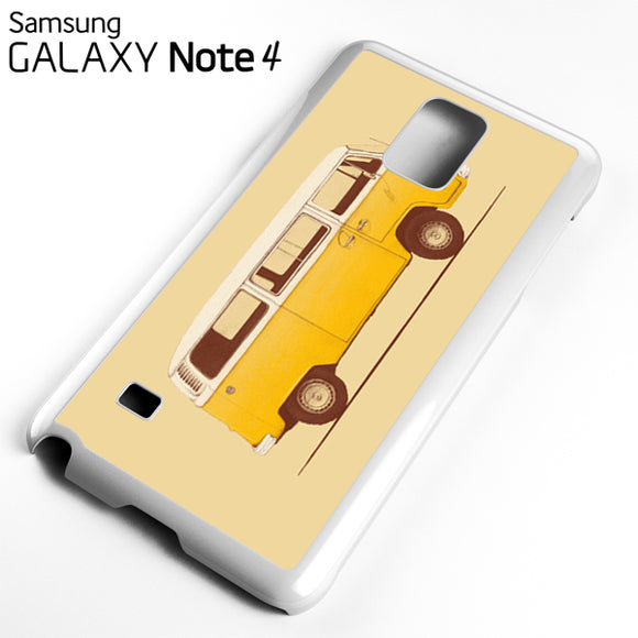 Yellow Van - Samsung Galaxy Note 4 Case - Tatumcase
