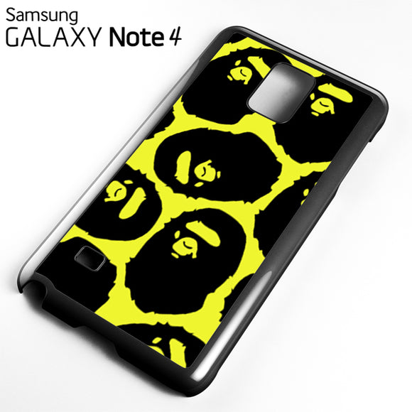 Yelow Bape - Samsung Galaxy Note 4 Case - Tatumcase