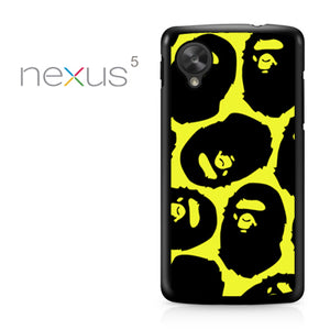 Yelow Bape - Nexus 5 Case - Tatumcase