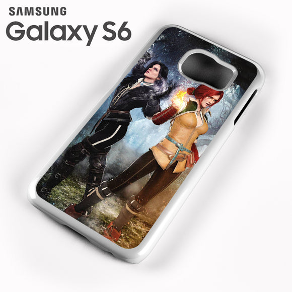 Yennefer and Triss AB - Samsung Galaxy S6 Case - Tatumcase