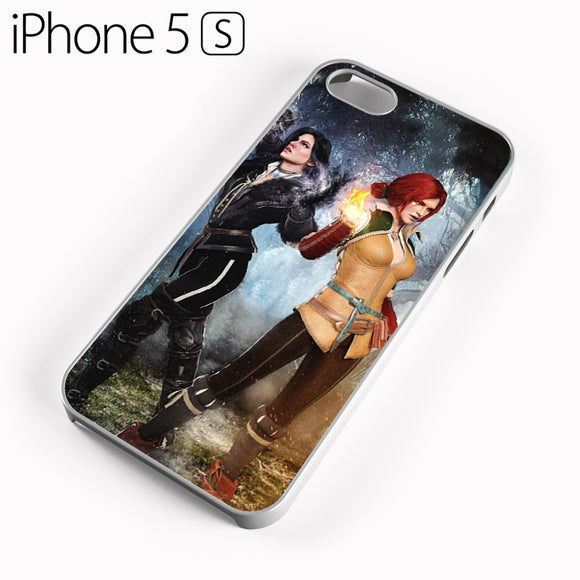 Yennefer and Triss AB - iPhone 5 Case - Tatumcase