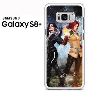 Yennefer and Triss AB - Samsung Galaxy S8 Plus Case - Tatumcase