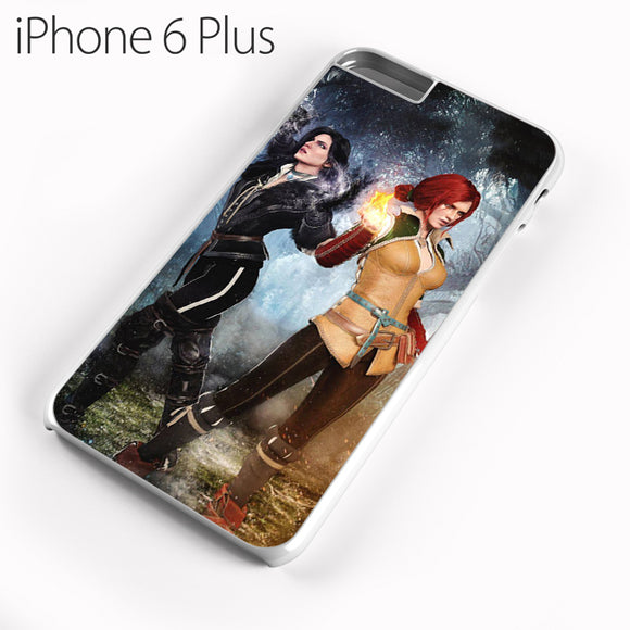 Yennefer and Triss AB - iPhone 6 Plus Case - Tatumcase