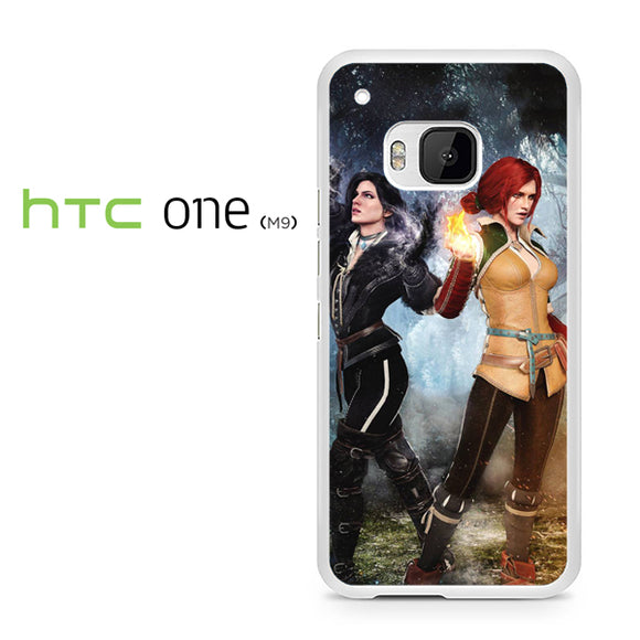 Yennefer and Triss AB - HTC M9 Case - Tatumcase