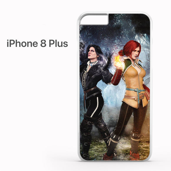 Yennefer and Triss AB - iPhone 8 Plus Case - Tatumcase