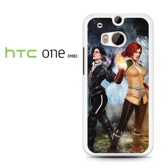 Yennefer and Triss AB - HTC M8 Case - Tatumcase