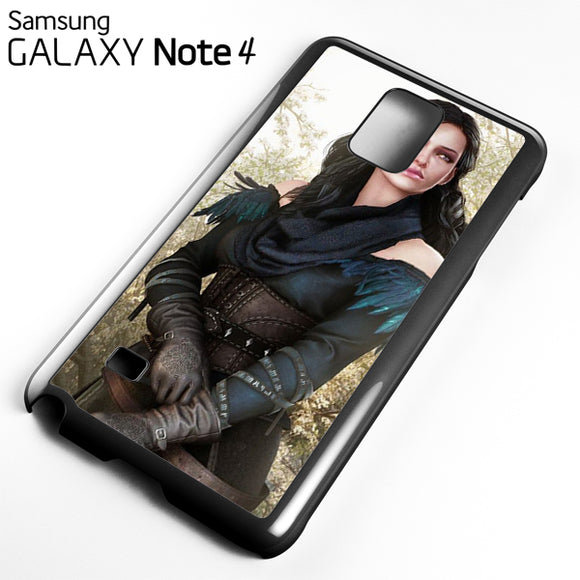 Yennefer - Samsung Galaxy Note 4 Case - Tatumcase