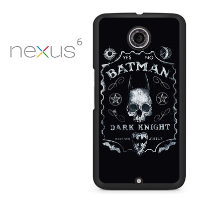 Yes No Batman Dark Knight - Nexus 6 Case - Tatumcase