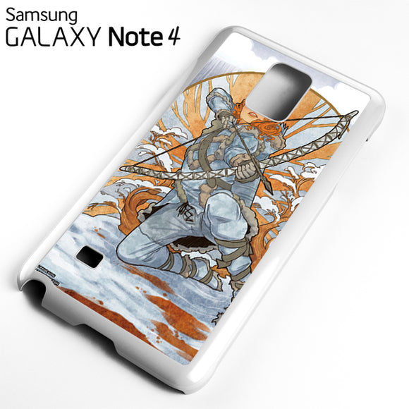 Ygritte Game of thrones - Samsung Galaxy Note 4 Case - Tatumcase