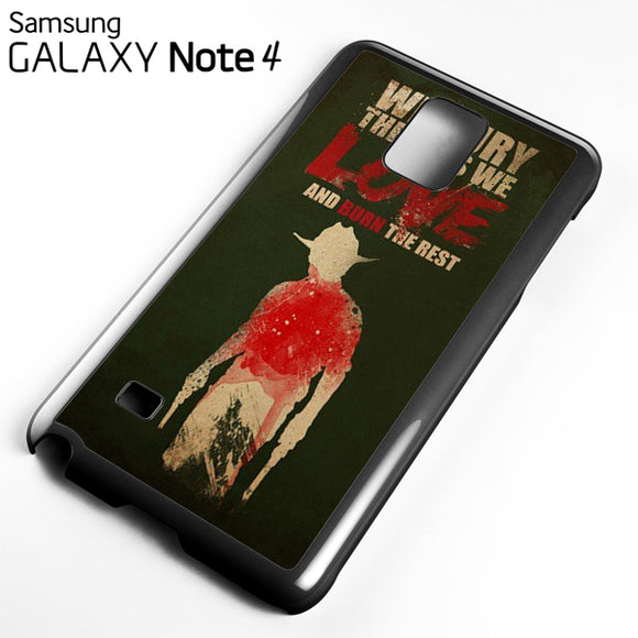 Yhe Walking Dead Bury The One We Love - Samsung Galaxy Note 4 Case - Tatumcase