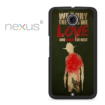 Yhe Walking Dead Bury The One We Love - Nexus 6 Case - Tatumcase