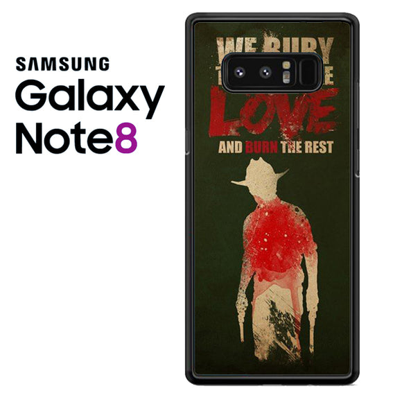 Yhe Walking Dead Bury The One We Love - Samsung Galaxy Note 8 Case - Tatumcase