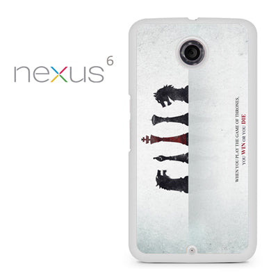 Yiu Win Or You Die - Nexus 6 Case - Tatumcase