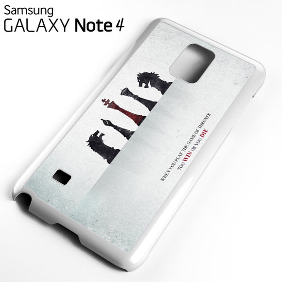Yiu Win Or You Die - Samsung Galaxy Note 4 Case - Tatumcase
