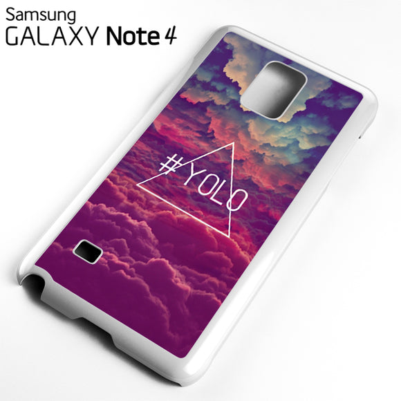 Yolo Colorful Sky - Samsung Galaxy Note 4 Case - Tatumcase