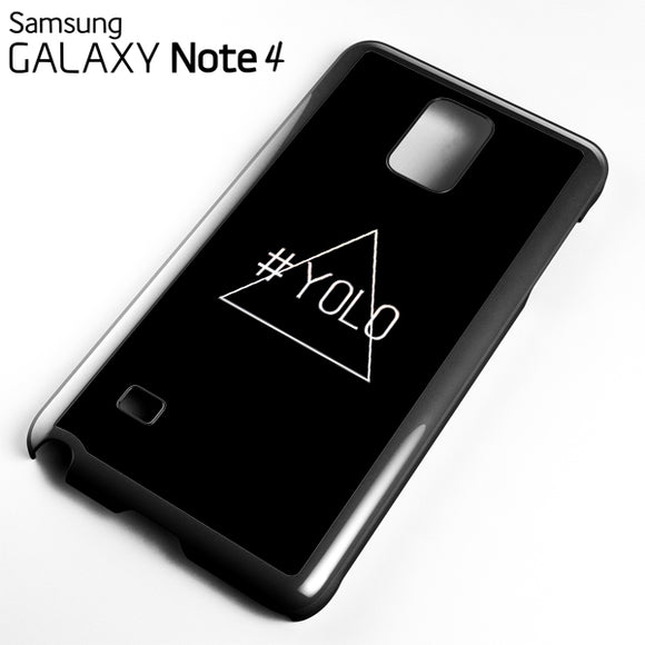 Yolo Just Yolo - Samsung Galaxy Note 4 Case - Tatumcase