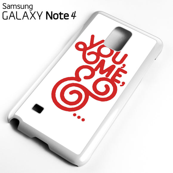 You And Me - Samsung Galaxy Note 4 Case - Tatumcase