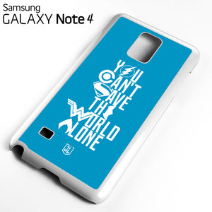 You Cant Save The World Alone JL - Samsung Galaxy Note 4 Case - Tatumcase