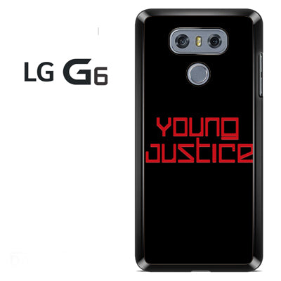 Young Justice Logo - LG G6 Case - Tatumcase