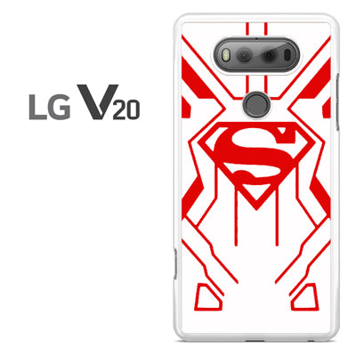 Young Justice Superboy White Suit - LG V20 Case - Tatumcase