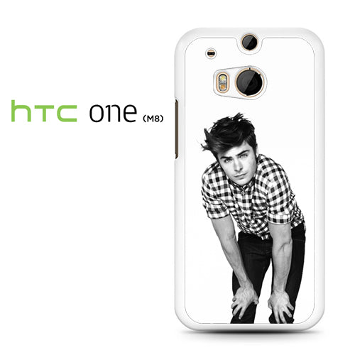 Zac Efron 11 - HTC M8 Case - Tatumcase