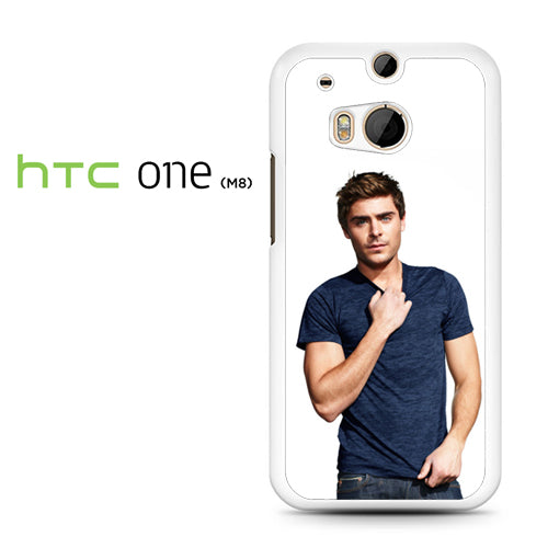 Zac Efron 4 - HTC M8 Case - Tatumcase