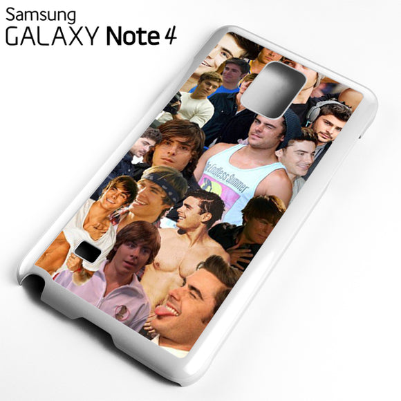 Zac Efron Collage - Samsung Galaxy Note 4 Case - Tatumcase