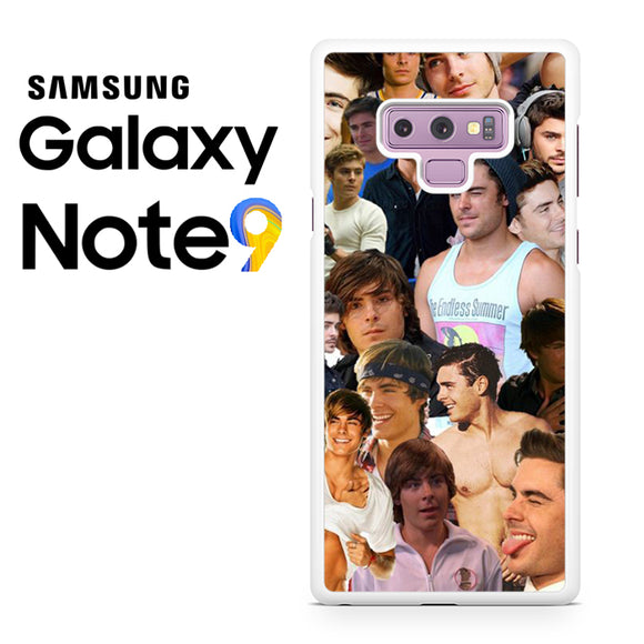Zac Efron Collage - Samsung Galaxy NOTE 9 Case - Tatumcase