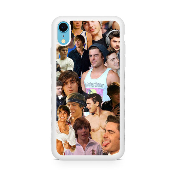 Zac Efron Collage,Custom Phone Case, iPhone XR Case, Tatumcase
