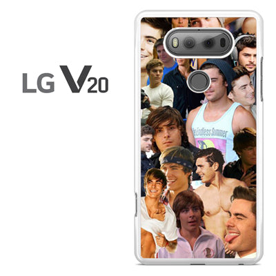 Zac Efron Collage - LG V20 Case - Tatumcase